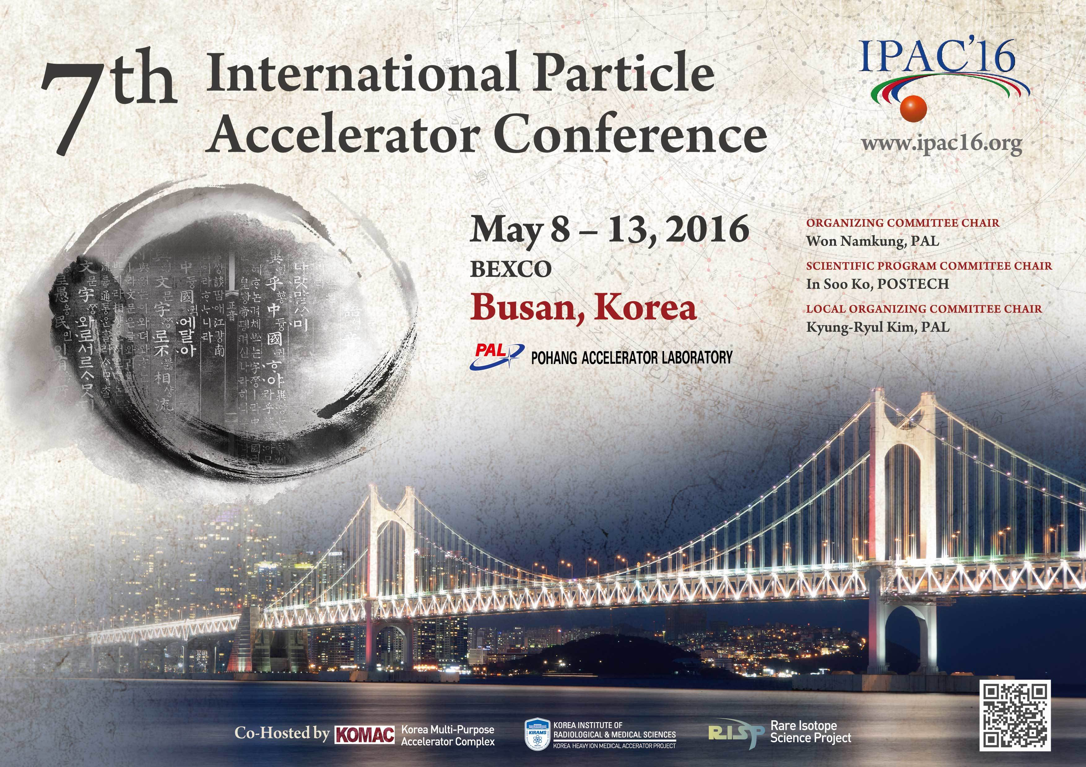IPAC'16 Conference Poster